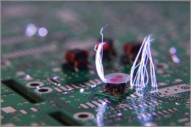 Componente electrónico de RF